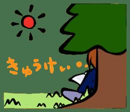 Work ! Ma-kun sticker #1599009