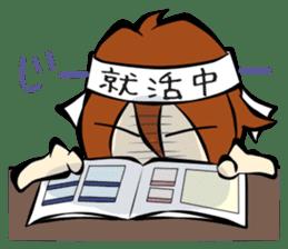 Work ! Ma-kun sticker #1599028