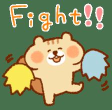 Cute child squirrel sticker #1599465
