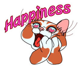Matatabby of the cat (English  version) sticker #1600849