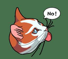 Matatabby of the cat (English  version) sticker #1600864