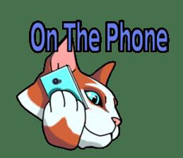 Matatabby of the cat (English  version) sticker #1600869