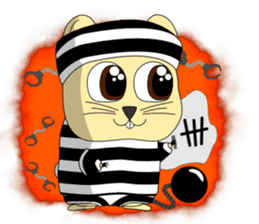Hamsty: Halloween Costume Party! sticker #1602757