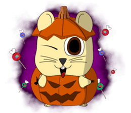 Hamsty: Halloween Costume Party! sticker #1602758