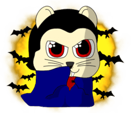 Hamsty: Halloween Costume Party! sticker #1602775