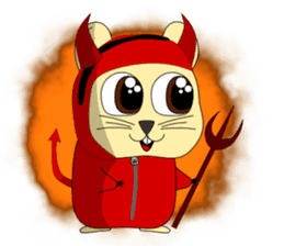 Hamsty: Halloween Costume Party! sticker #1602792
