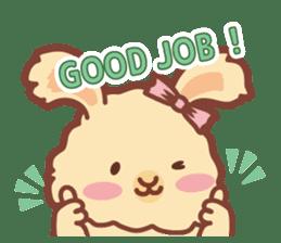 Kawaii Rabbits / Laura / redesigned sticker #1605215