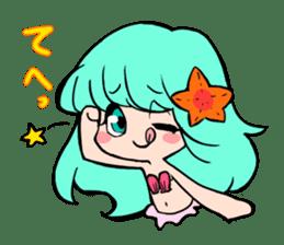 Sirena of the mermaid sticker #1605837