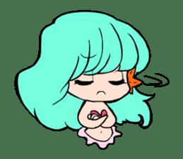 Sirena of the mermaid sticker #1605844