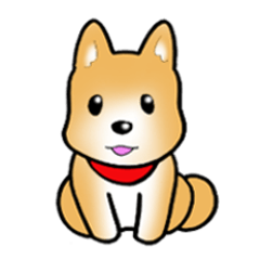 Shiba inu's Sticker(Japanese dog)