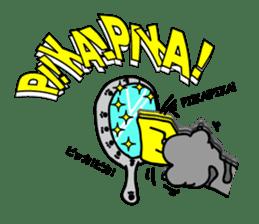 Onomatopoeia of Japan by cat's paw G~P sticker #1608268