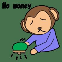 Freeter Monchan English version sticker #1610415