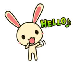 Tokki Toki Rabbit sticker #1611913