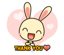 Tokki Toki Rabbit sticker #1611917