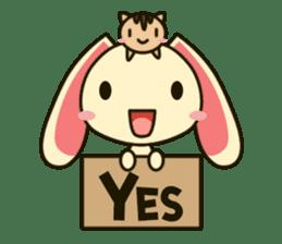 Tokki Toki Rabbit sticker #1611920