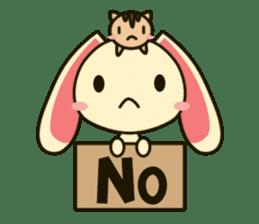 Tokki Toki Rabbit sticker #1611921