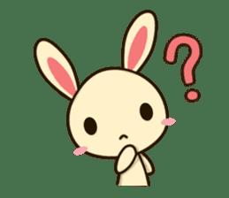 Tokki Toki Rabbit sticker #1611923