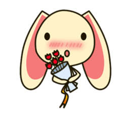 Tokki Toki Rabbit sticker #1611926