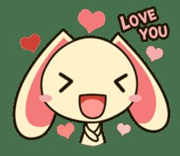 Tokki Toki Rabbit sticker #1611927