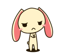 Tokki Toki Rabbit sticker #1611931