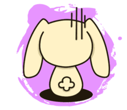 Tokki Toki Rabbit sticker #1611938