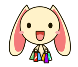 Tokki Toki Rabbit sticker #1611944