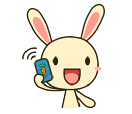 Tokki Toki Rabbit sticker #1611948