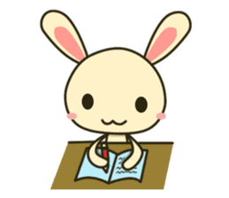Tokki Toki Rabbit sticker #1611950