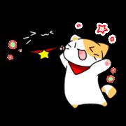 สติ๊กเกอร์ไลน์ tsuki & roku