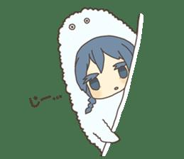 Cute Cryptid sticker #1613858