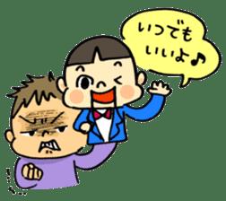 ventriloquism! sticker #1616634