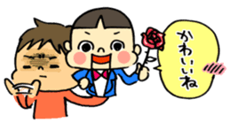 ventriloquism! sticker #1616639