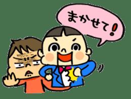 ventriloquism! sticker #1616640