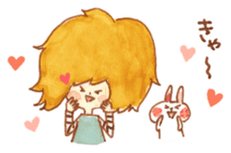 Bunny and Coco sticker #1618760