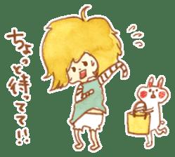 Bunny and Coco sticker #1618778