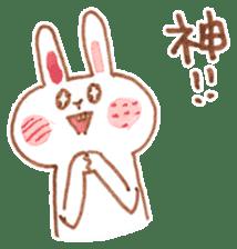 Bunny and Coco sticker #1618785