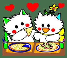 Pudding-chan kitten 2 sticker #1621387