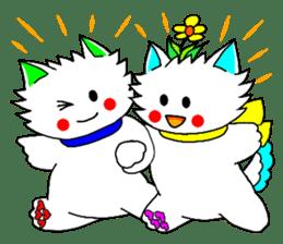 Pudding-chan kitten 2 sticker #1621389