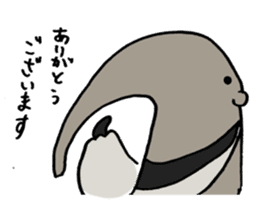 Giant anteaters and ants sticker #1623039