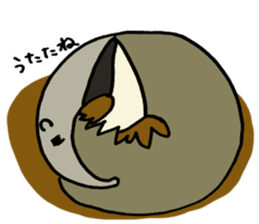 Giant anteaters and ants sticker #1623045