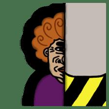 The purple auntie (English version) sticker #1623499