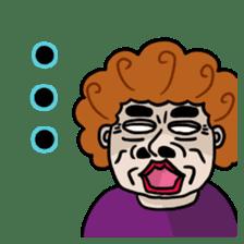 The purple auntie (English version) sticker #1623500