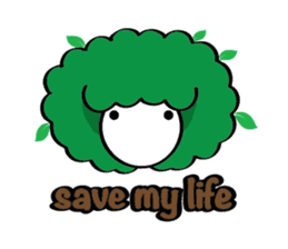 Save the nature sticker #1624210