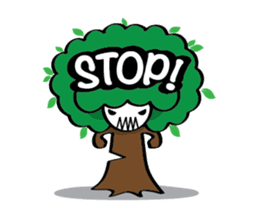 Save the nature sticker #1624213