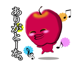 Big apple of her talking sticker #1624783