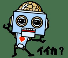HALF ROBOT sticker #1625718