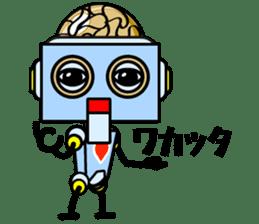 HALF ROBOT sticker #1625725