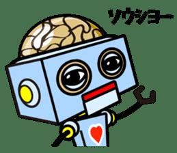 HALF ROBOT sticker #1625726