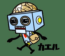 HALF ROBOT sticker #1625732