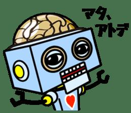 HALF ROBOT sticker #1625738
